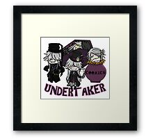 UndertakerS chibi Framed Print