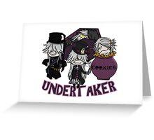 UndertakerS chibi Greeting Card