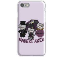 UndertakerS chibi iPhone Case/Skin