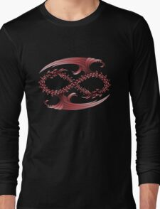 Infinity Dragons_Red Long Sleeve T-Shirt