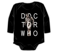 Doctor Who - Cyberman Title [Black] One Piece - Long Sleeve