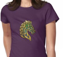 Celtic Horse Womens Fitted T-Shirt
