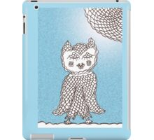 Olive Owl Delightful by Day iPad Case/Skin