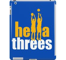 Hella Threes iPad Case/Skin