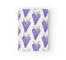 Grape Fun Hardcover Journal