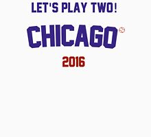 Let's Play Two! Chicago Cubs 2016 Men's Baseball ¾ T-Shirt