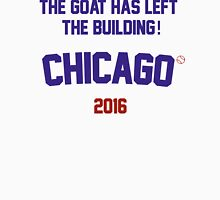 The Goat Has Left the Building! Chicago Cubs 2016 Men's Baseball ¾ T-Shirt