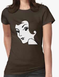 Miss Redhead [iPhone / iPad / iPod case / Tshirt / Print] Womens Fitted T-Shirt