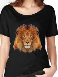 Lion Low Poly Art Women's Relaxed Fit T-Shirt
