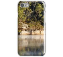 Foggy start at Dunns Swamp iPhone Case/Skin