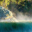 Morning at the rock by Fran53