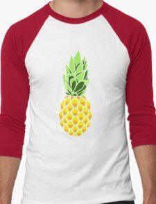 Pineapple Men's Baseball ¾ T-Shirt