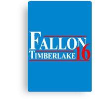 Fallon Timberlake 16 Presidential Political Canvas Print