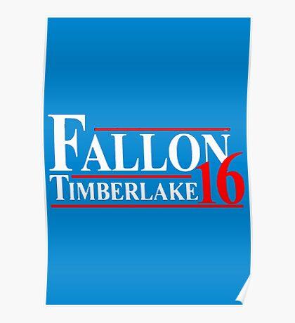 Fallon Timberlake 16 Presidential Political Poster