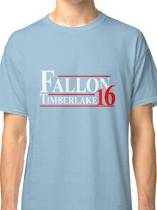 Fallon Timberlake 16 Presidential Political Classic T-Shirt