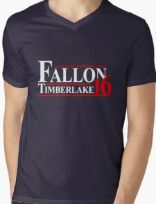 Fallon Timberlake 16 Presidential Political Mens V-Neck T-Shirt