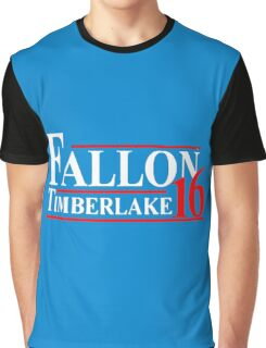 Fallon Timberlake 16 Presidential Political Graphic T-Shirt