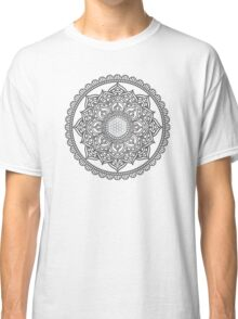 Sacred Geometry: Flower Of Life Mandala III Classic T-Shirt