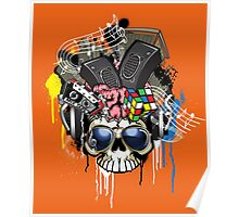Skull - Music inside the brain  Poster