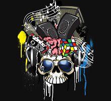 Skull - Music inside the brain  Unisex T-Shirt