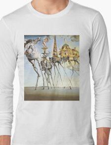 Salvador Dali - Elephants Long Sleeve T-Shirt