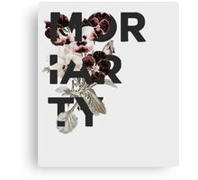 Floral Moriarty Canvas Print