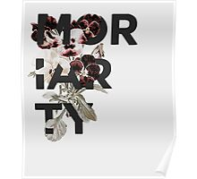 Floral Moriarty Poster