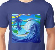 Sea Ocean big Wave Water  Unisex T-Shirt