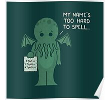 Monster Issues - Cthulhu Poster