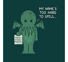 Monster Issues - Cthulhu Photographic Print