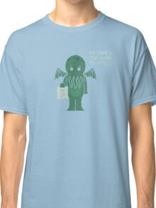 Monster Issues - Cthulhu Classic T-Shirt