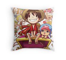 "One Piece ""cartoon"" Throw Pillow"