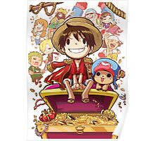 "One Piece ""cartoon"" Poster"