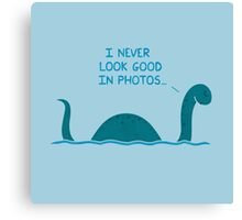 Monster Issues - Nessie Canvas Print