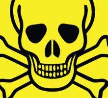 Danger Poison Symbol Sticker