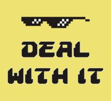 Deal With It Baby Tee