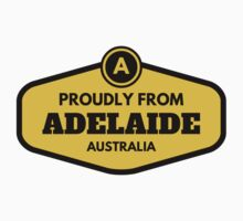 Proudly From Adelaide Australia Kids Tee
