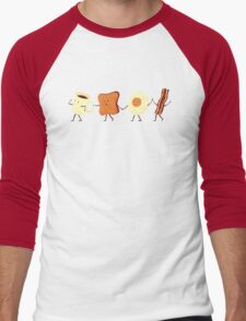 Let's All Go And Have Breakfast Men's Baseball ¾ T-Shirt