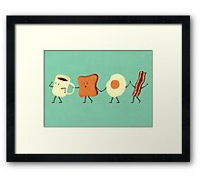 Let's All Go And Have Breakfast Framed Print