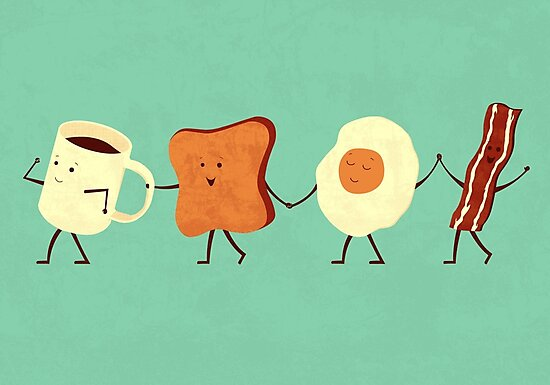 Let's All Go And Have Breakfast by Teo Zirinis
