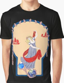 Tarot Two of Coins Graphic T-Shirt