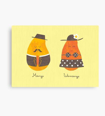 Fruit Genders Canvas Print