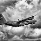 Lockheed Martin C-130 H Hercules by derekbeattie