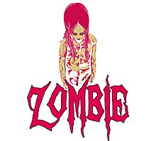 ZOMBIE LIMITED EDITION Photographic Print