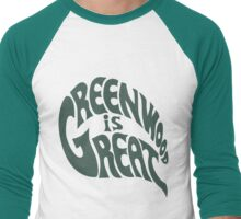 Greenwood Is Great Men's Baseball ¾ T-Shirt