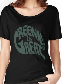 Greenwood Is Great Women's Relaxed Fit T-Shirt