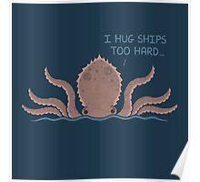 Monster Issues - Kraken Poster