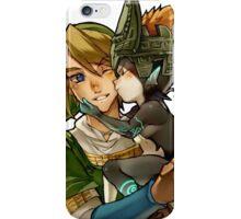 Zelda Midna and Link iPhone Case/Skin