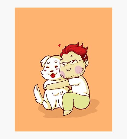 Markiplier and Chica Photographic Print