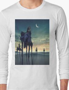 Dreams of Salvador Dali - Elephants Long Sleeve T-Shirt